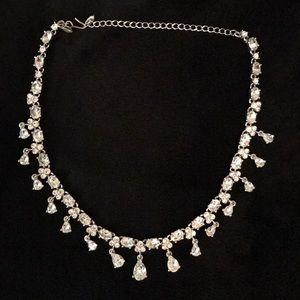 Monet Diamanté Choker / Collar Necklace